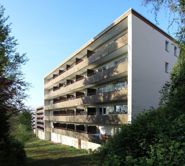 Haus Breslauer Straße 39-41 Hangansicht