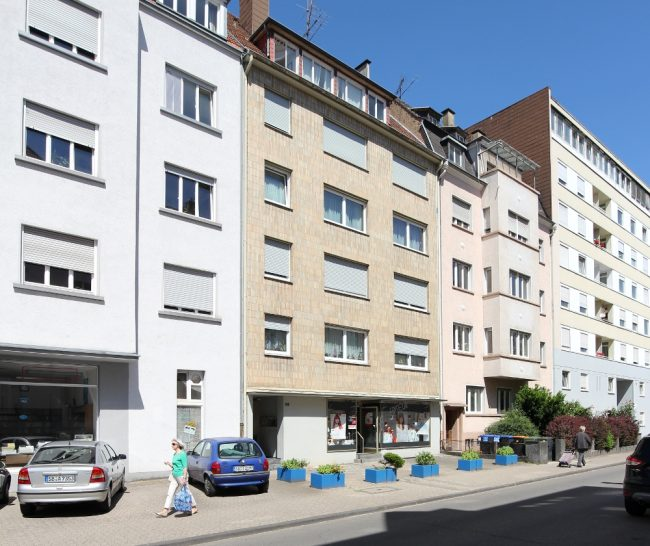 Haus Lessingstraße Straßenansicht Süd